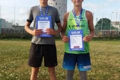Markus-Kohtla-ja-Tõnis-Hendrik-Tallo-U16-EMV-rannavõrkpallis-II-koht-Tartu.