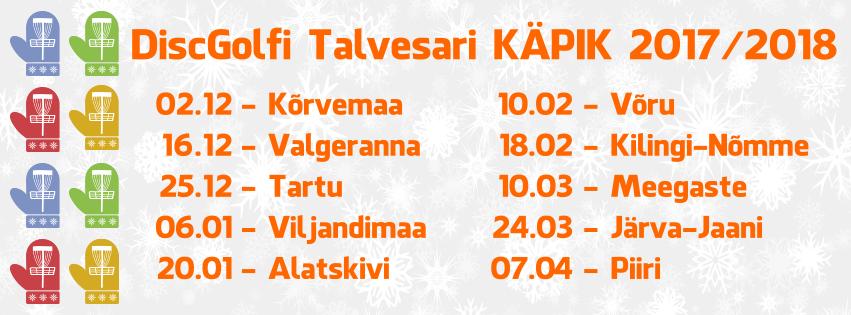 57104efc833 Talvesari KÄPIK Kilingi-Nõmme etapp