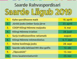 ed4840d5192 Rahvaspordisari Pärnumaa liigub ja Saarde rahvaspordisari 2019
