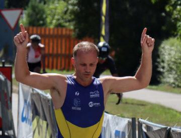 Triatloni võitja